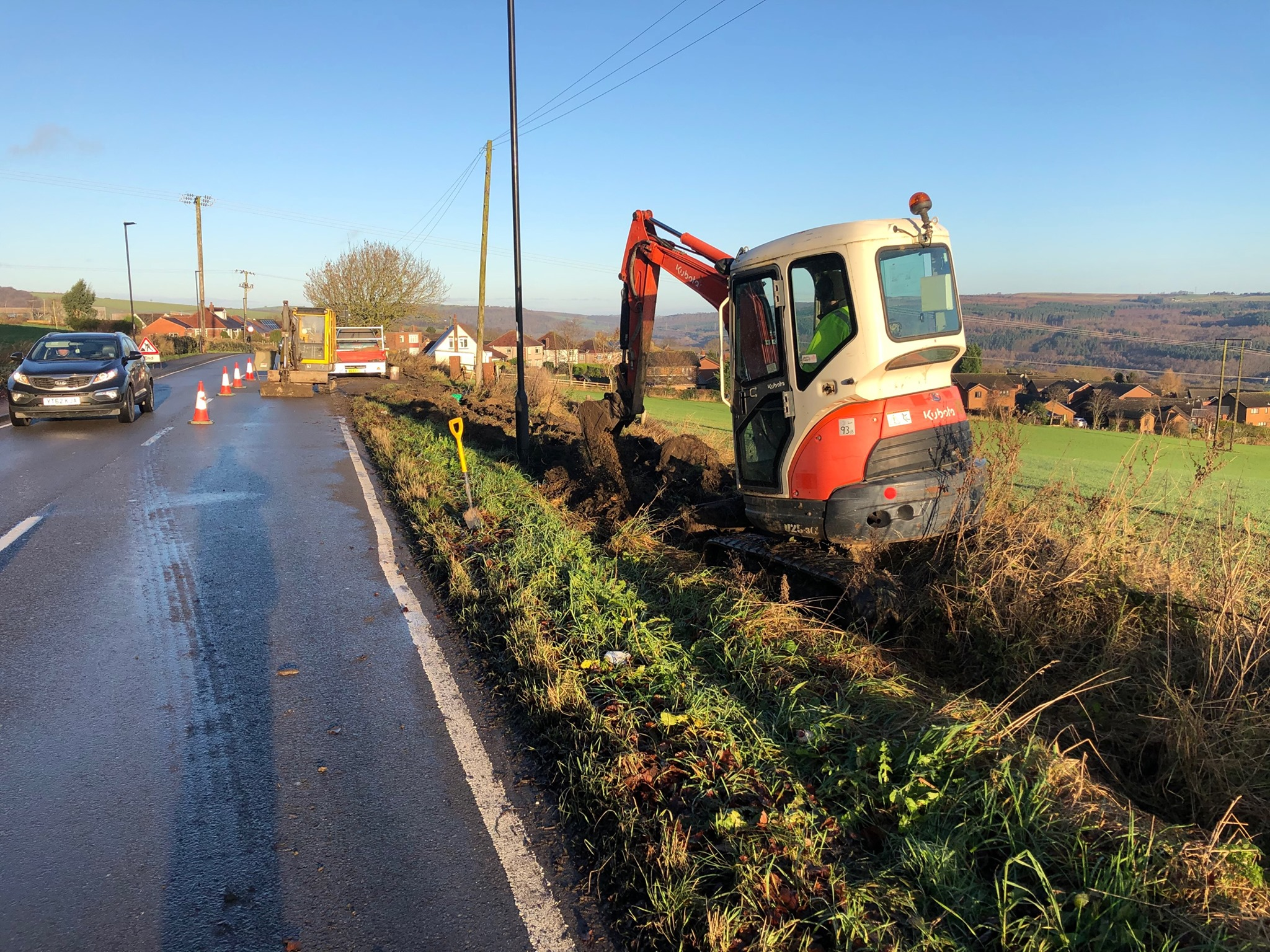 Our £2.7m FTTP build for Bradfield begins